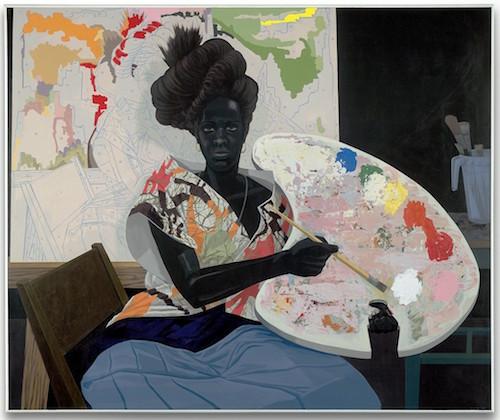 'untitled (painter)'(2009) Kerry James Marshall