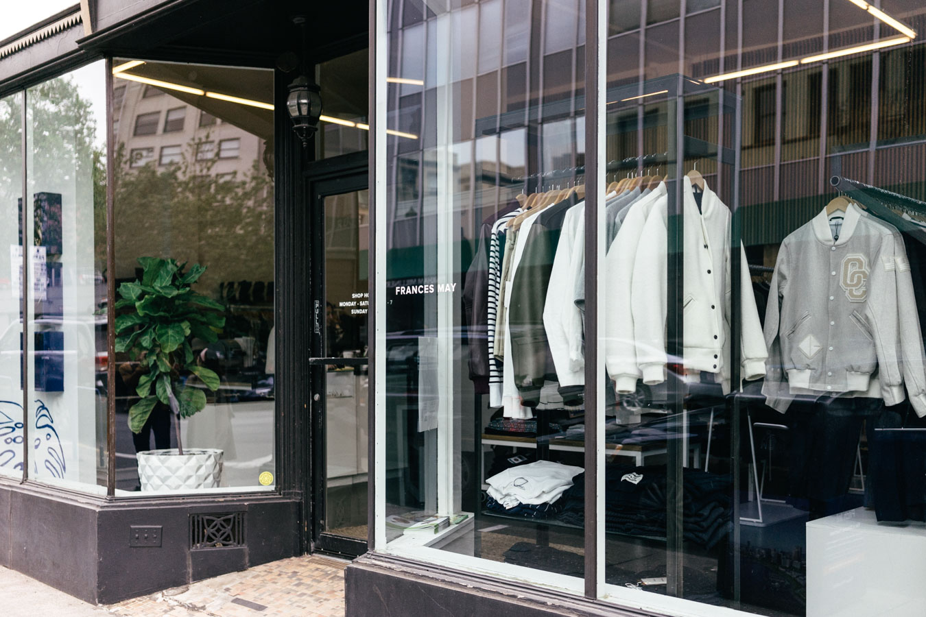 Frances May, a buyer fashion store, where we found many pieces we love.