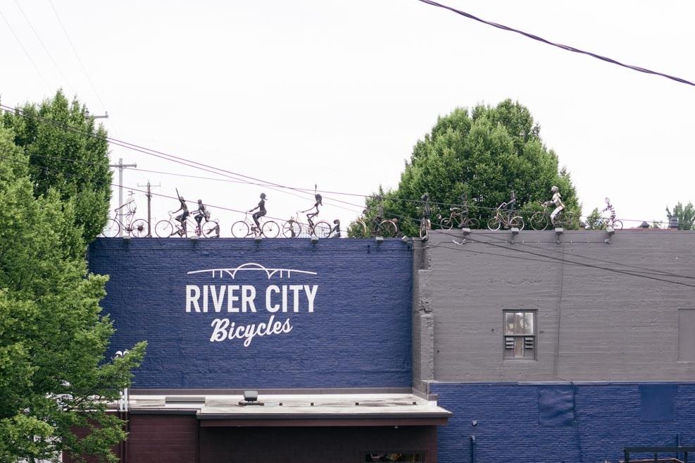 Portland is the most biker-friendly city in the U.S.