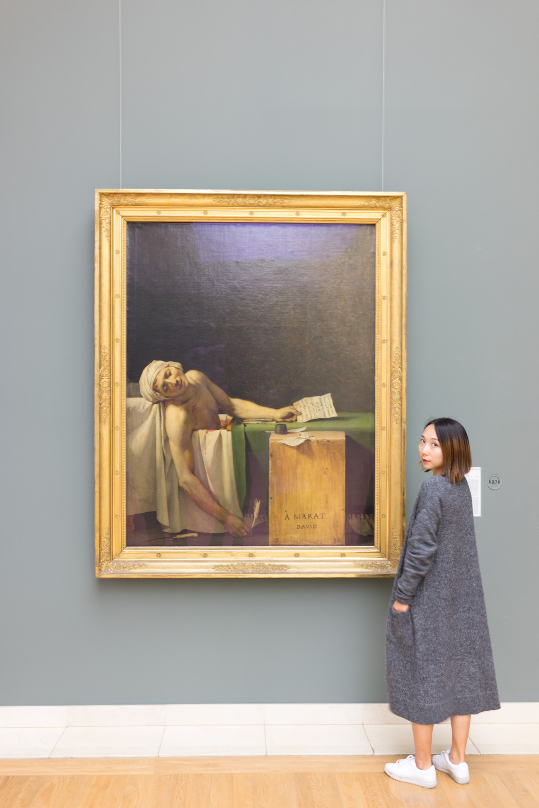 """The Death of Marat"",  probably the first few masterpieces that I learned of"