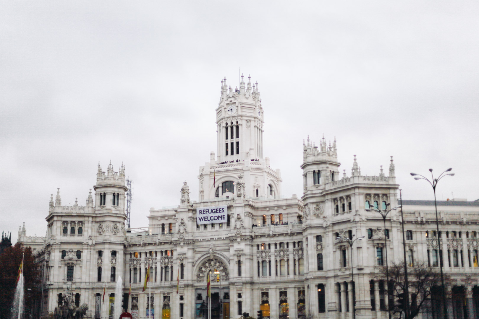 Palacio de Comunicaciones, now Madrid's City Hall, offers panoramic views of the city from this Gothic palace.