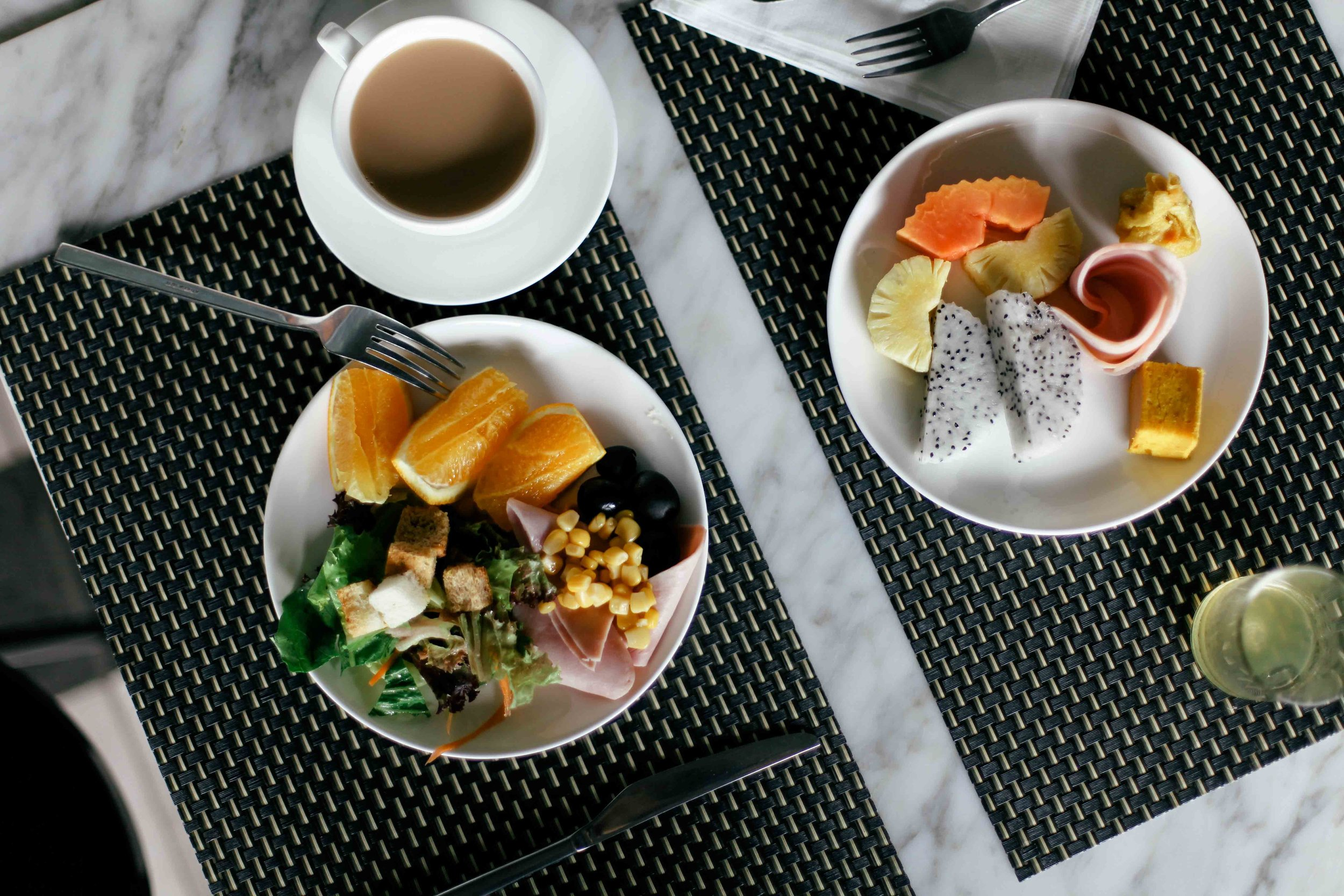 Good breakfast selection