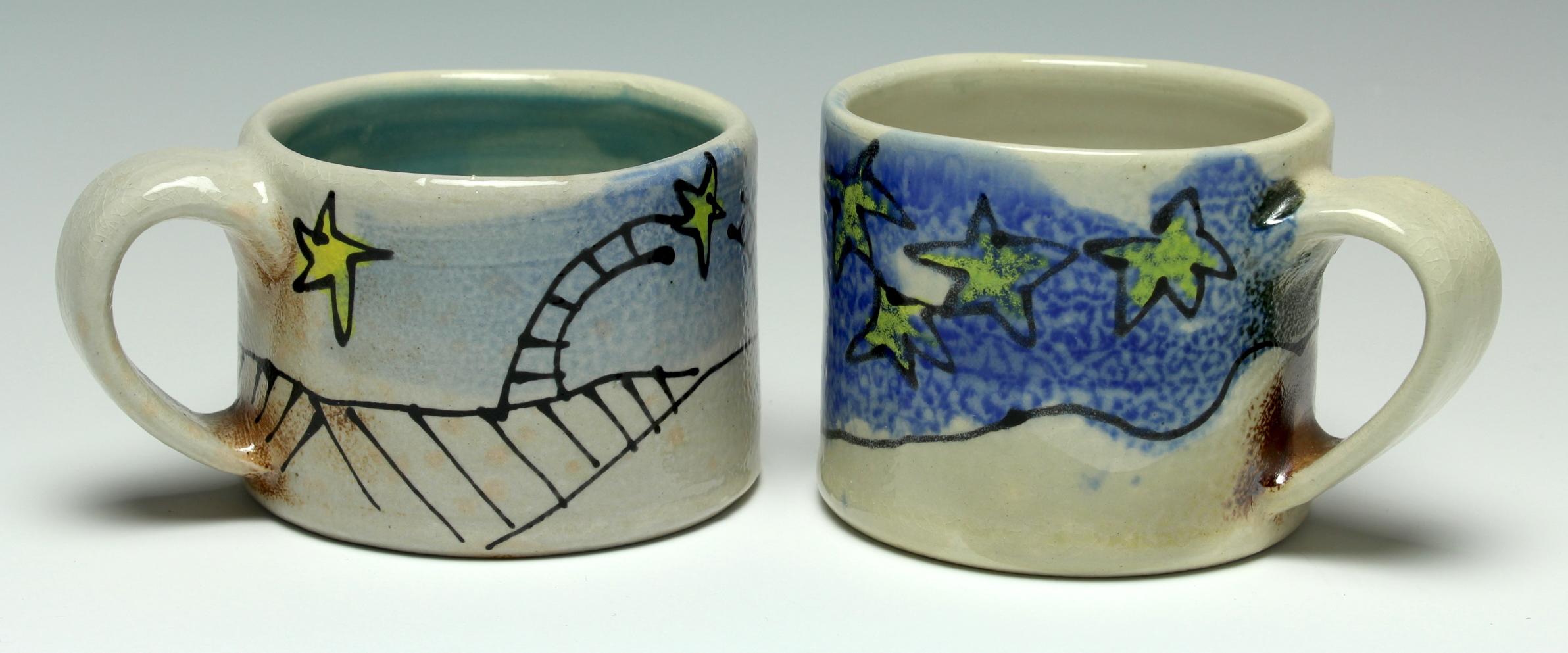 Child's Starry Mugs