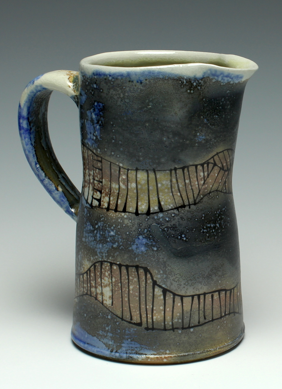 Pitcher with Lines