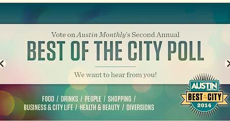 Austin Monthly Best of the City Poll