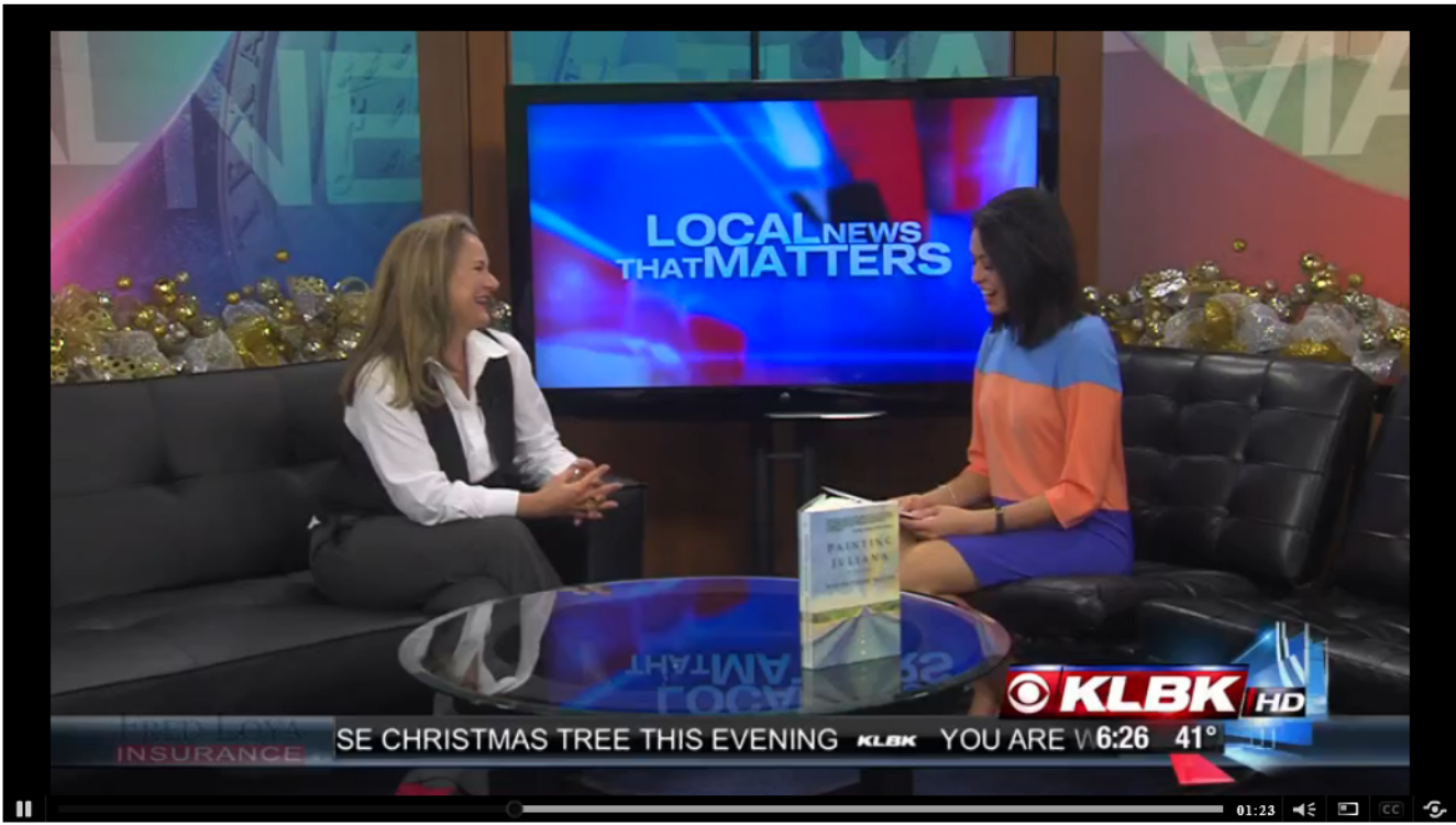 KLBK-CBS Interview with Brittany Escobar