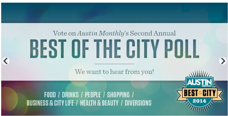 Martha Louise Hunter Author of Painting Juliana Nominated for Best Author in Austin Monthly's Best of City Poll