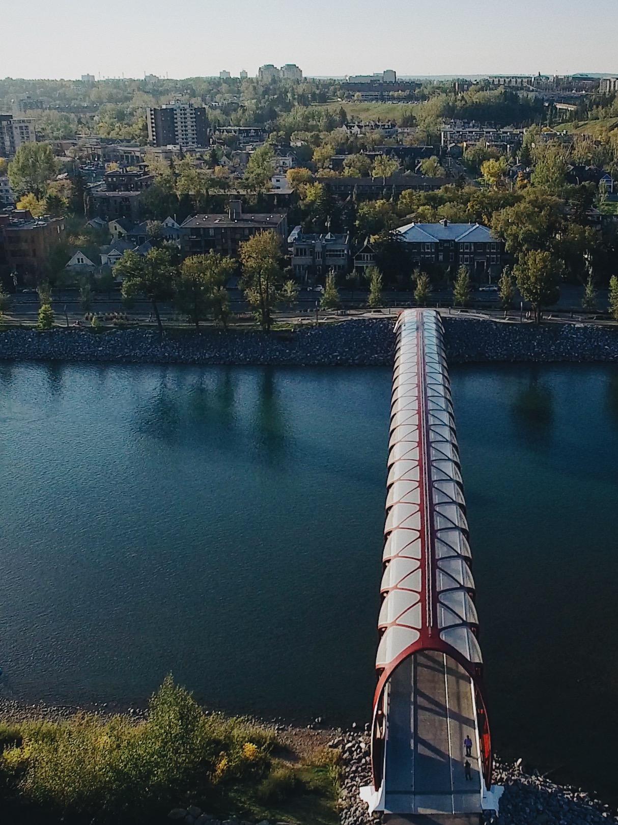 Peace Bridge, Calgary AB