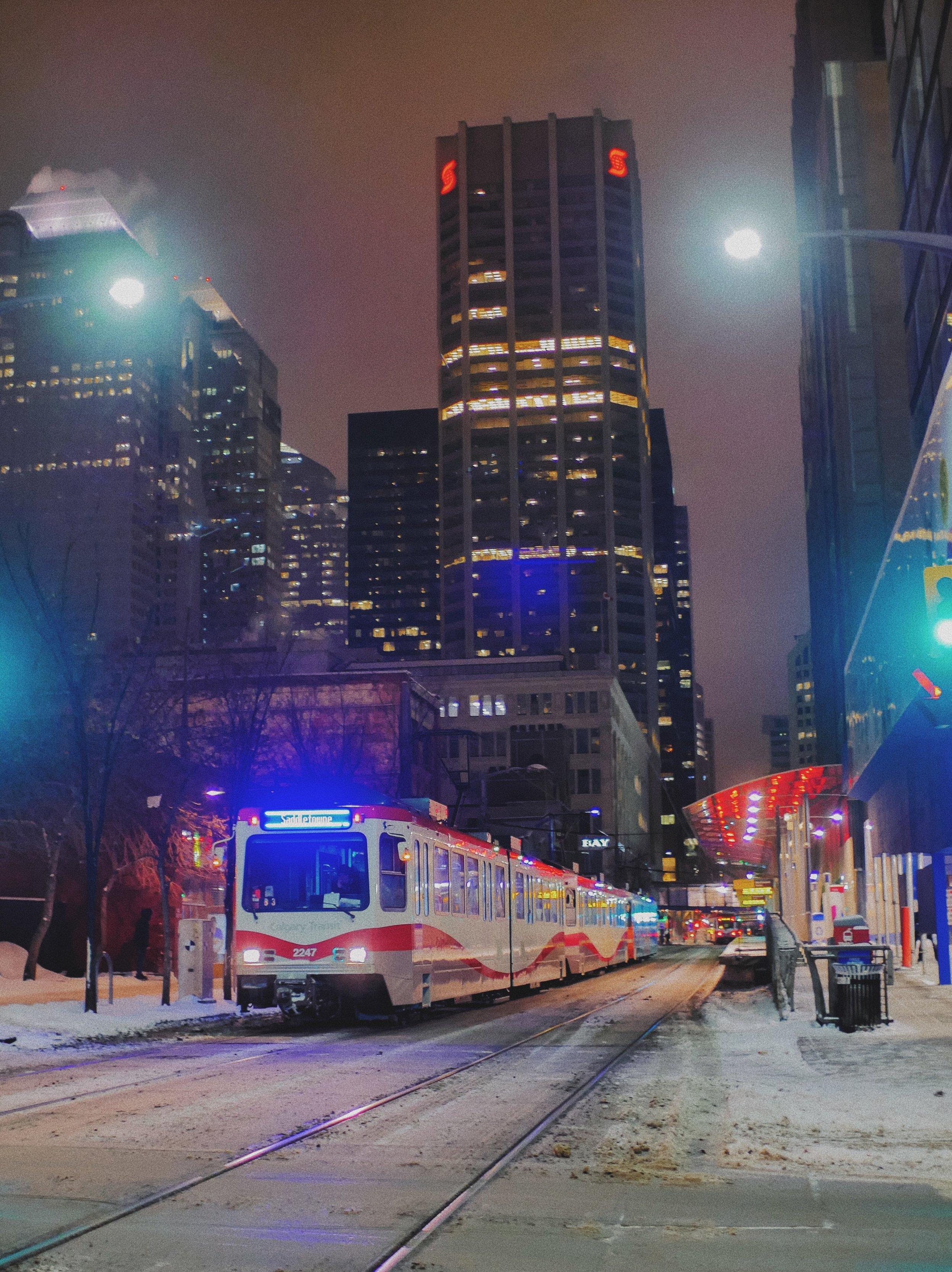 Snowy C-Train