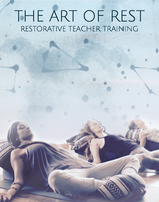 """""""Restorative yoga slowed down my thoughts and helped me connect with my heart.""""~Janet Brito"""