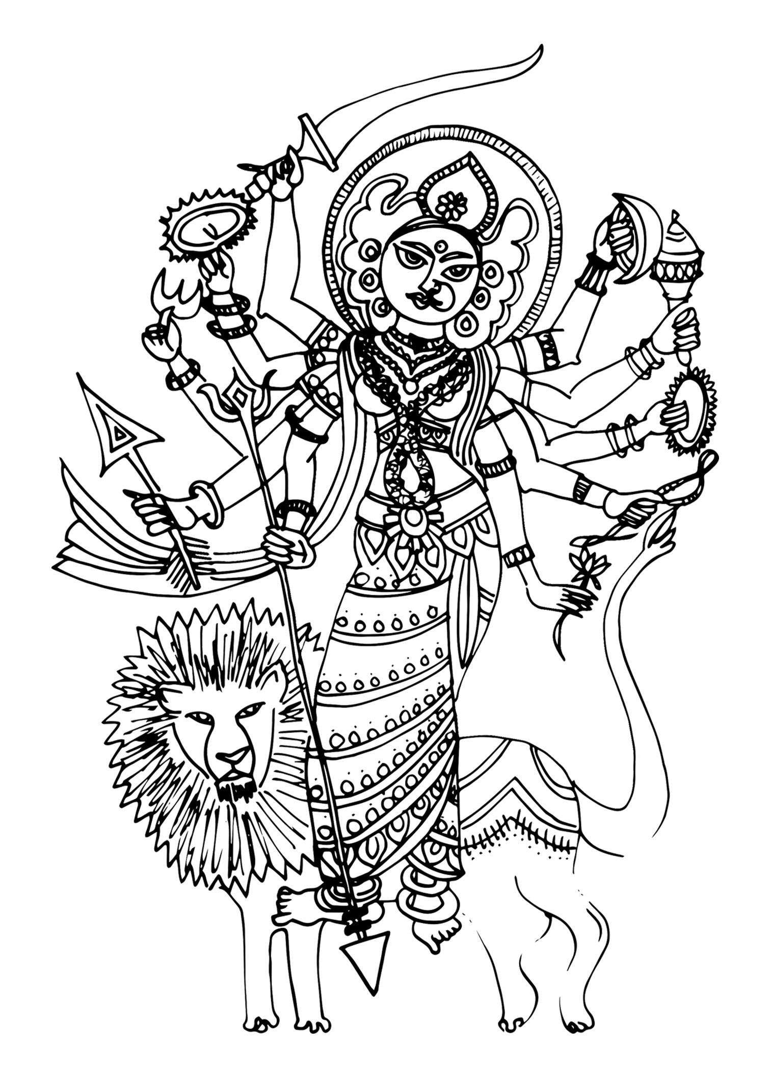 Durga demon slayer.jpg