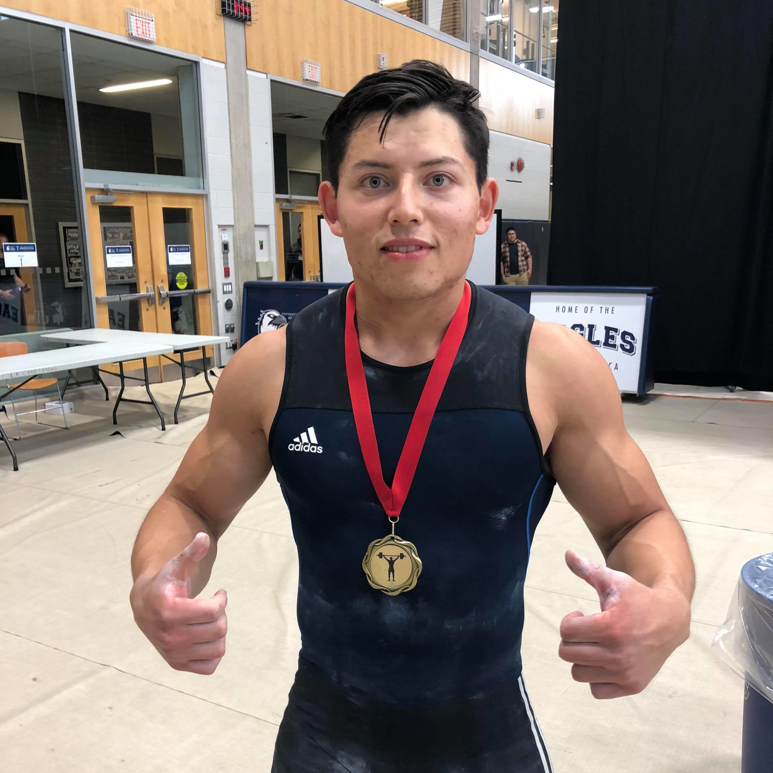 David Samayoa - Gold medal in 85kg class