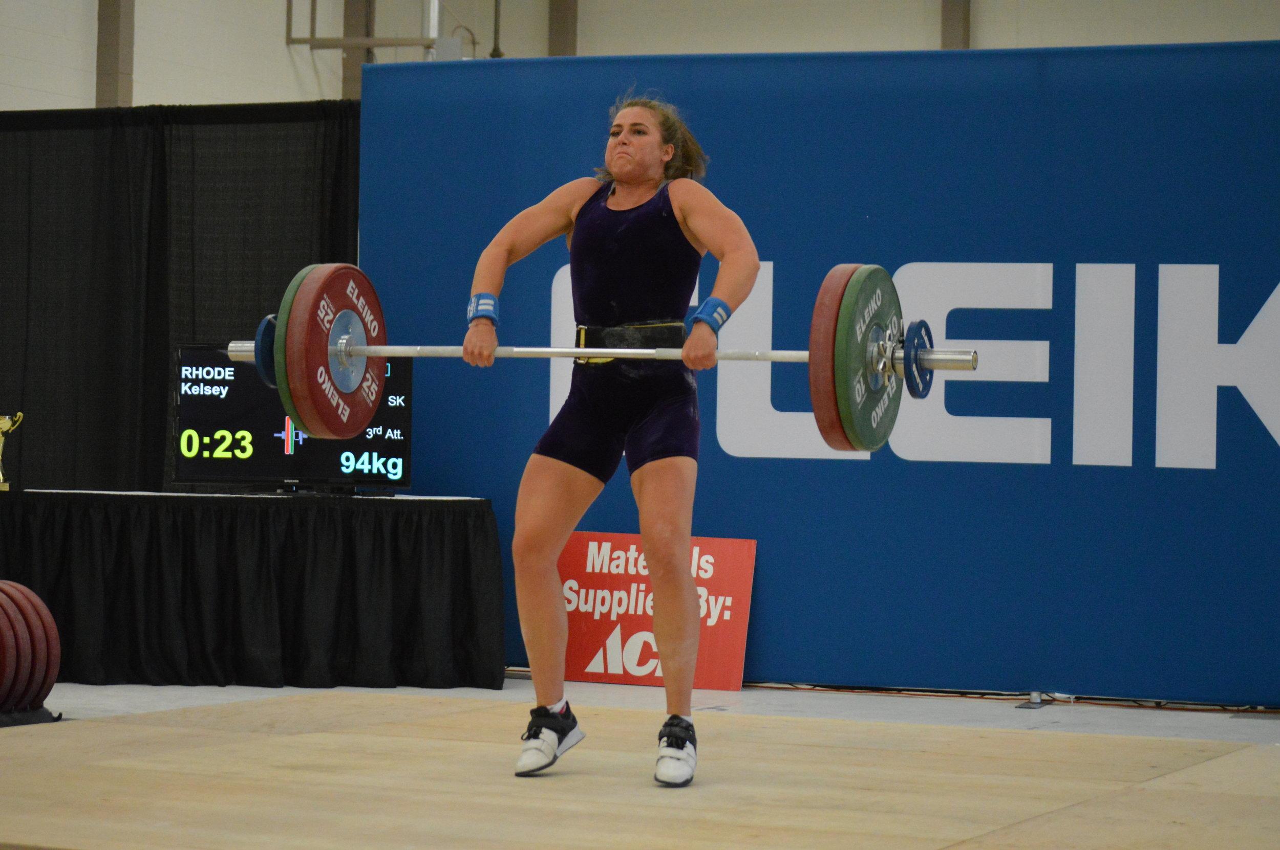 Kelsey - clean and jerk 94kg 3rd attempt (3).JPG