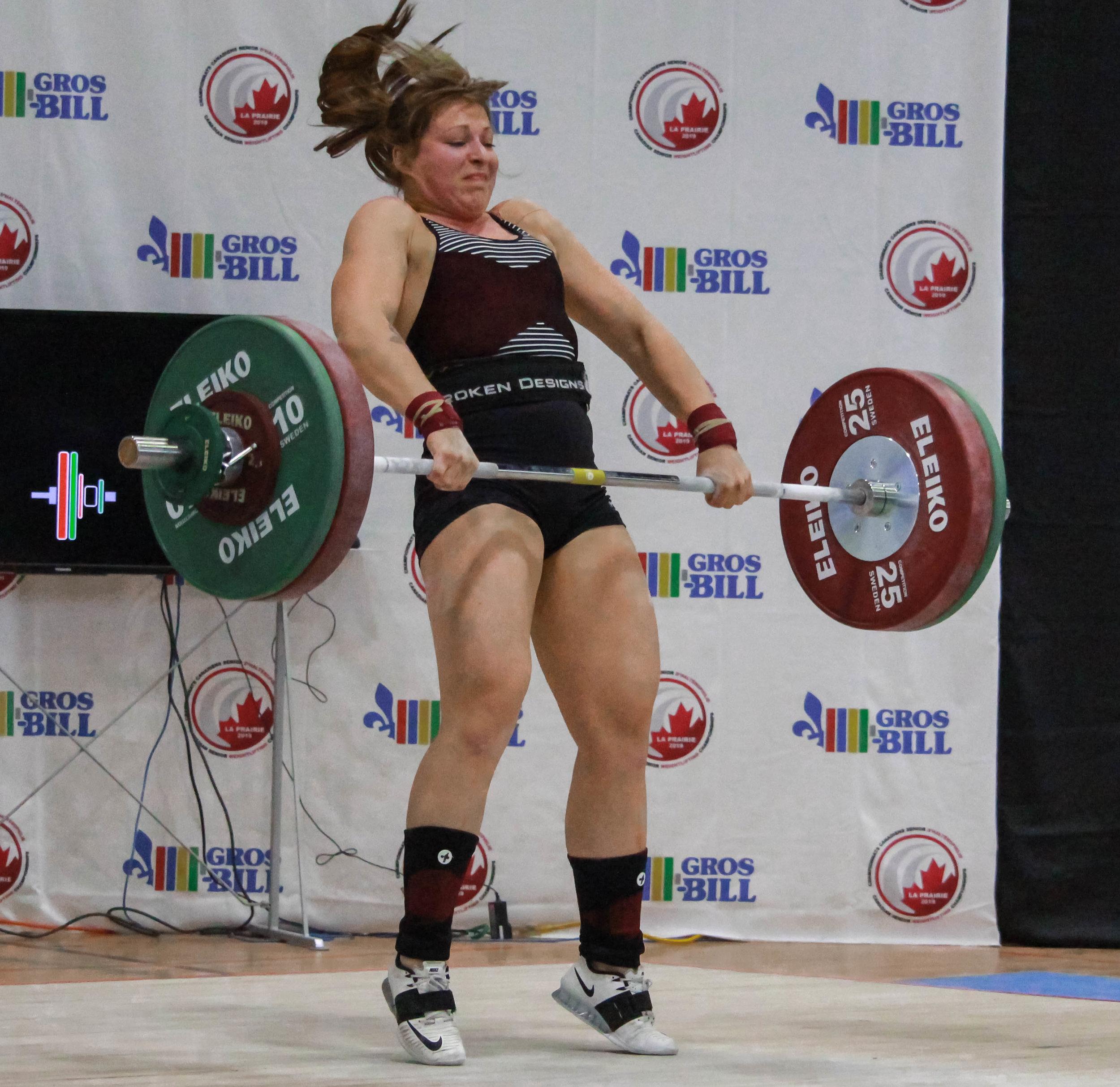 Alanna Bens (71kg)