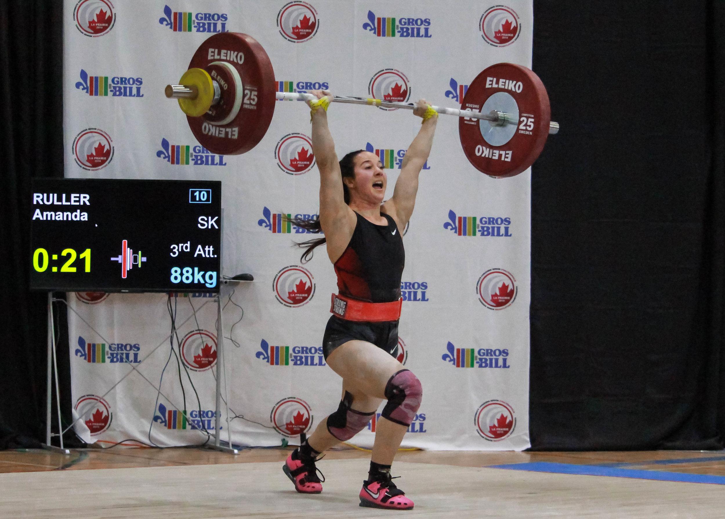 Amanda Ruller (55kg)