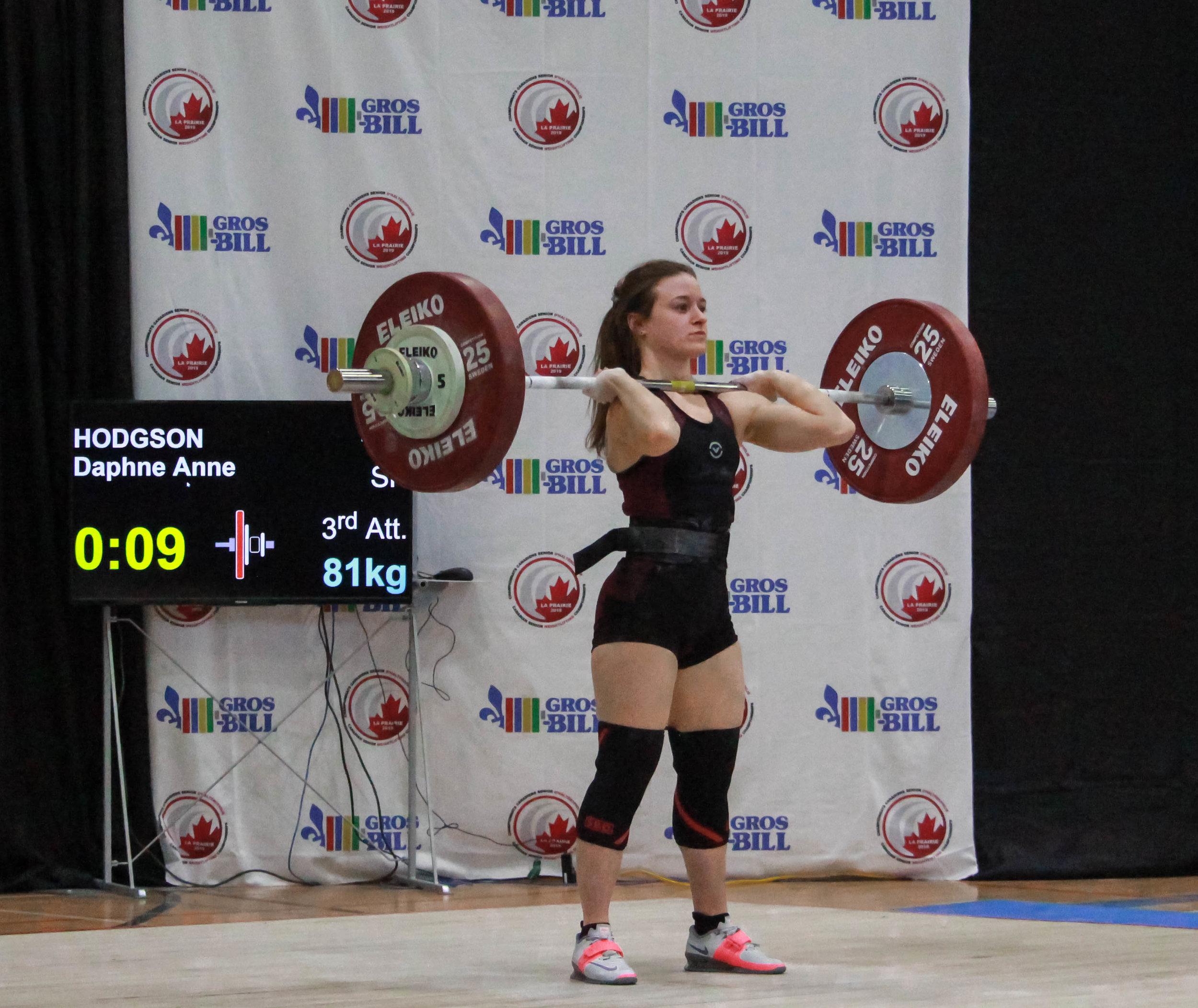 Daphne-Anne Hodgson (49kg)