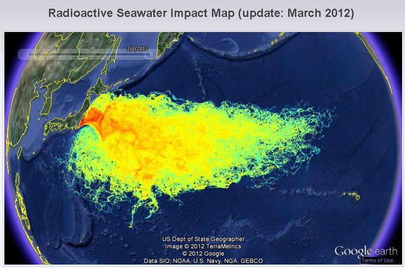 FUKUSHIMA NUCLEAR WASTEWATER DISPERSION