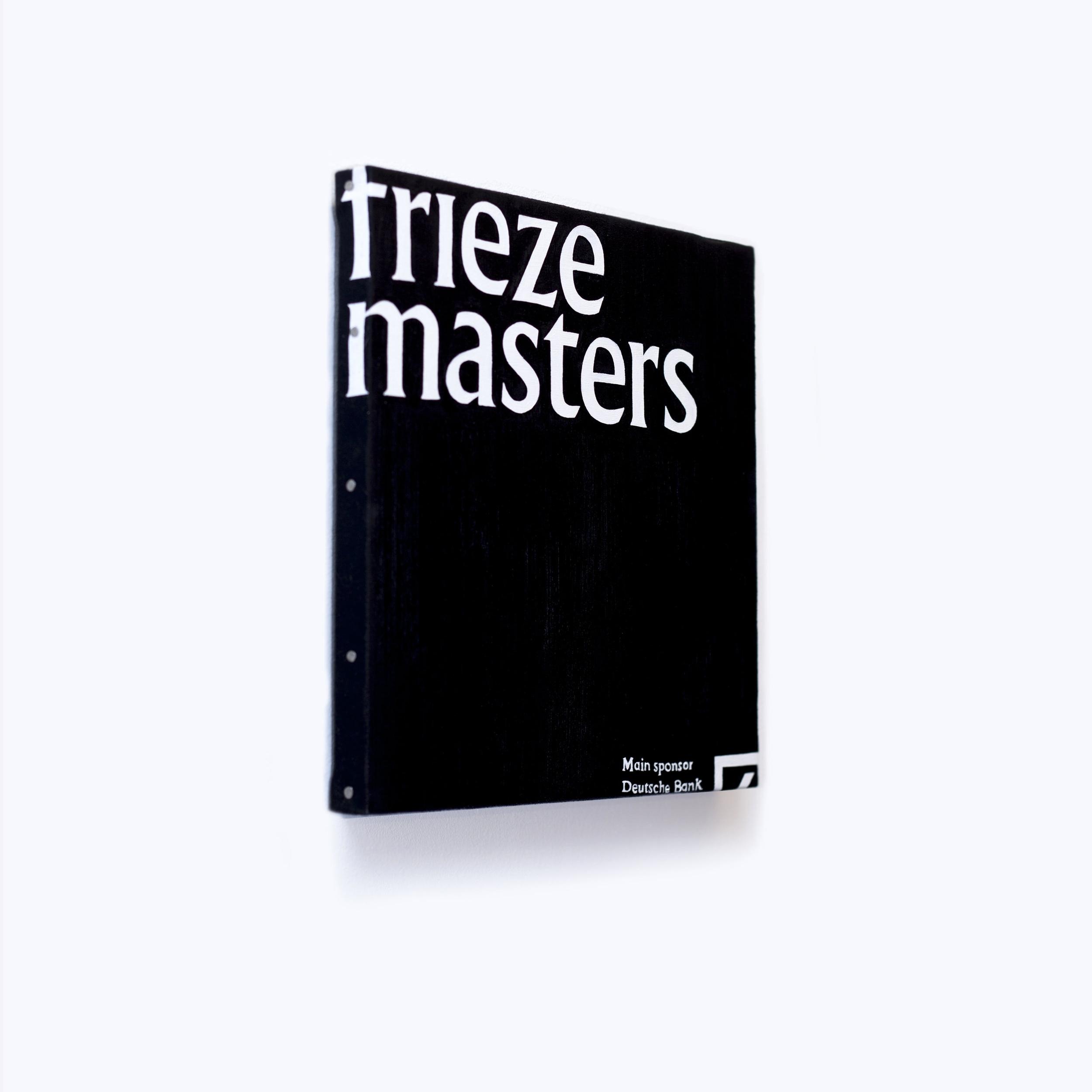 Tote Bag Paintings/ Frieze Masters 2016