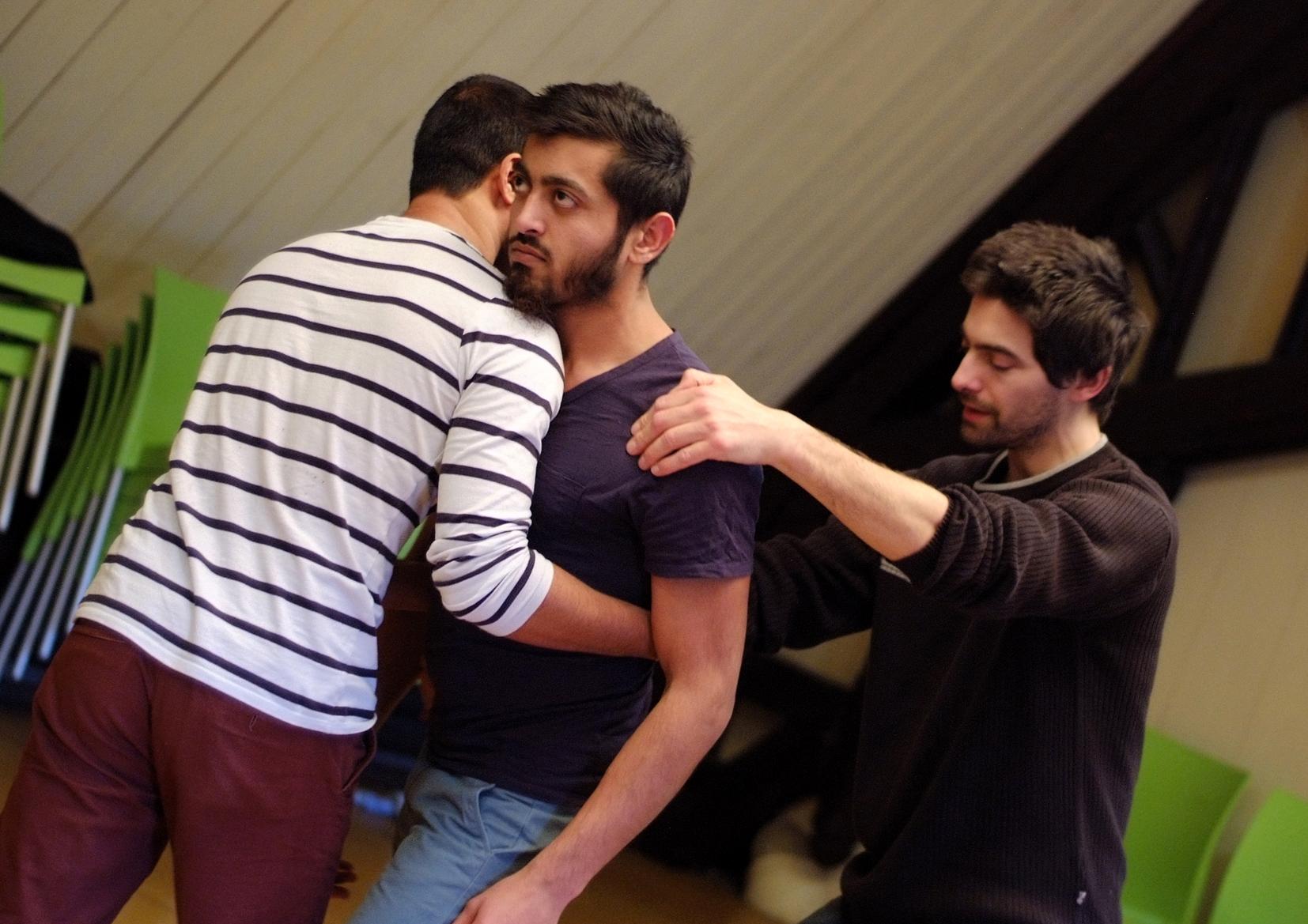 Chantier mené par  Etienne Fanteguzzi  avec le MOAF / fév 15
