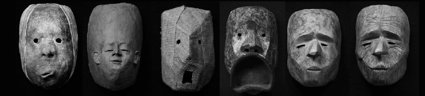 masks for Paysage de nos larmes