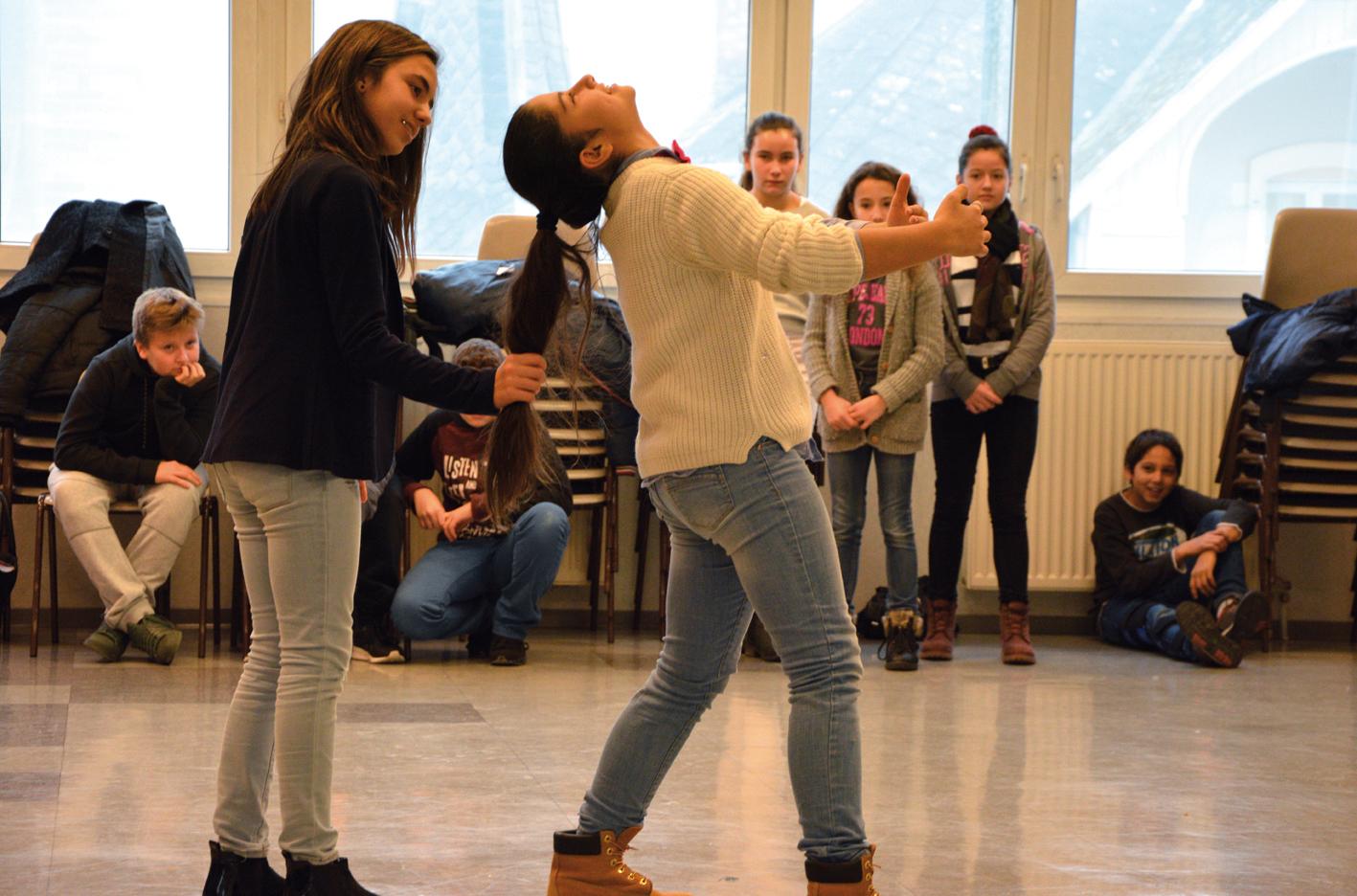 nneChantier avec le collège Sainte-Anne mené par  Stéphanie Félix  / Déc 15 - Mars 16
