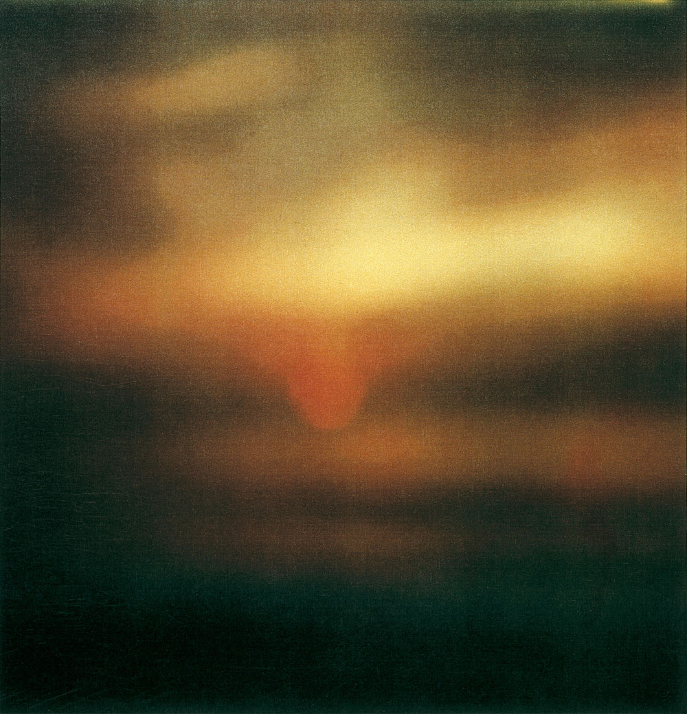 Cy Twombly —  Sunset, Gaaeta  (2009)