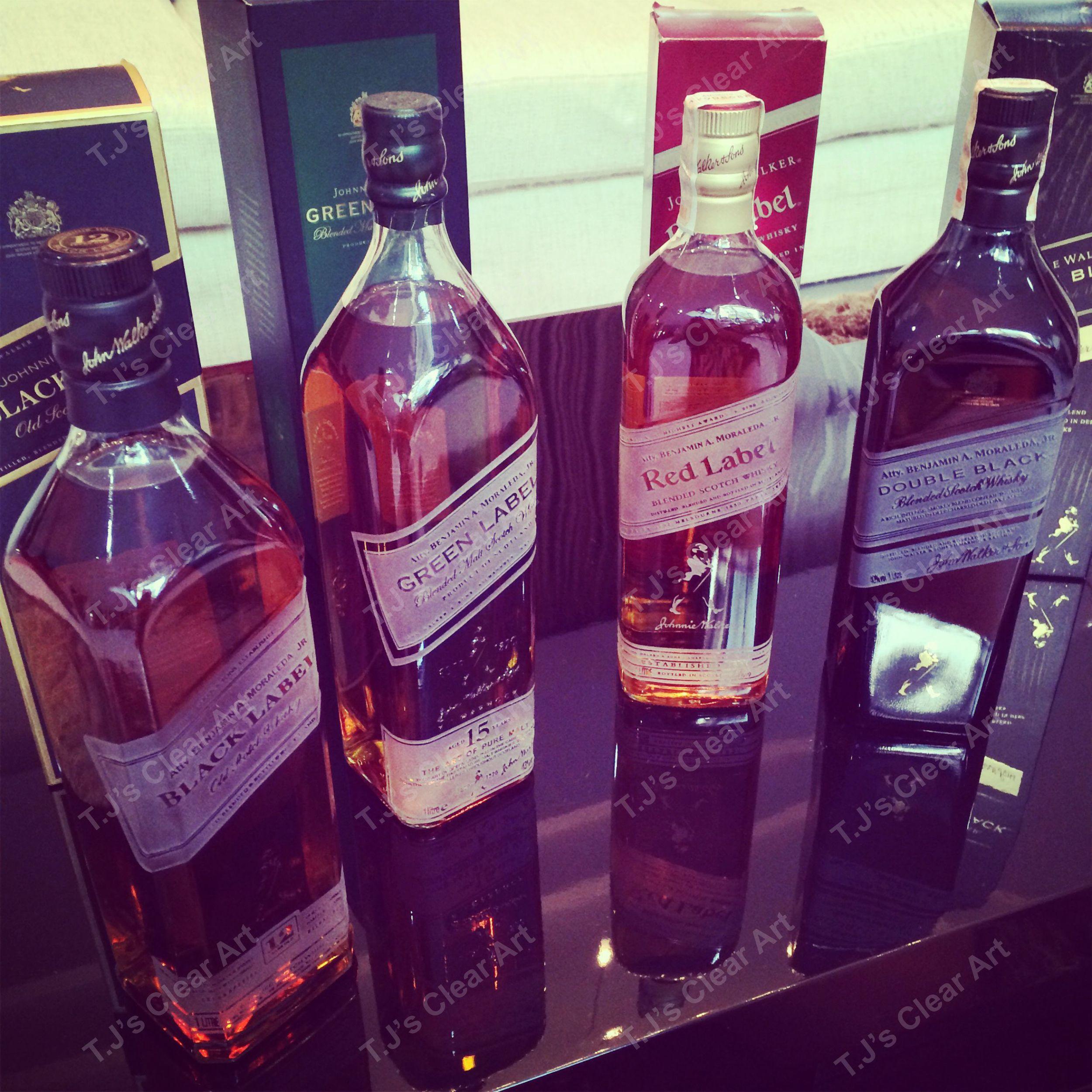Personalized Liquor Bottles