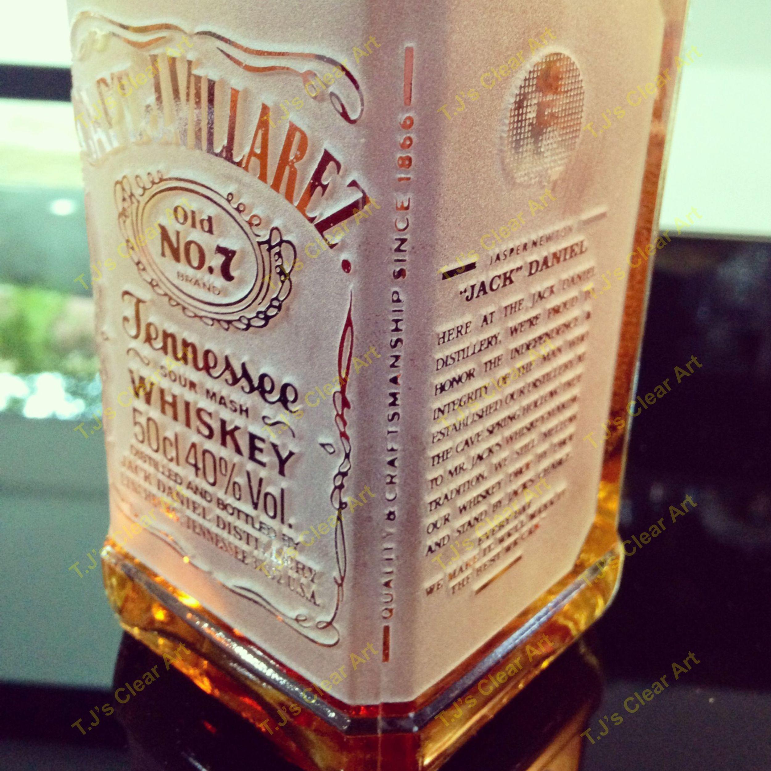 Personalized Liquor Bottle