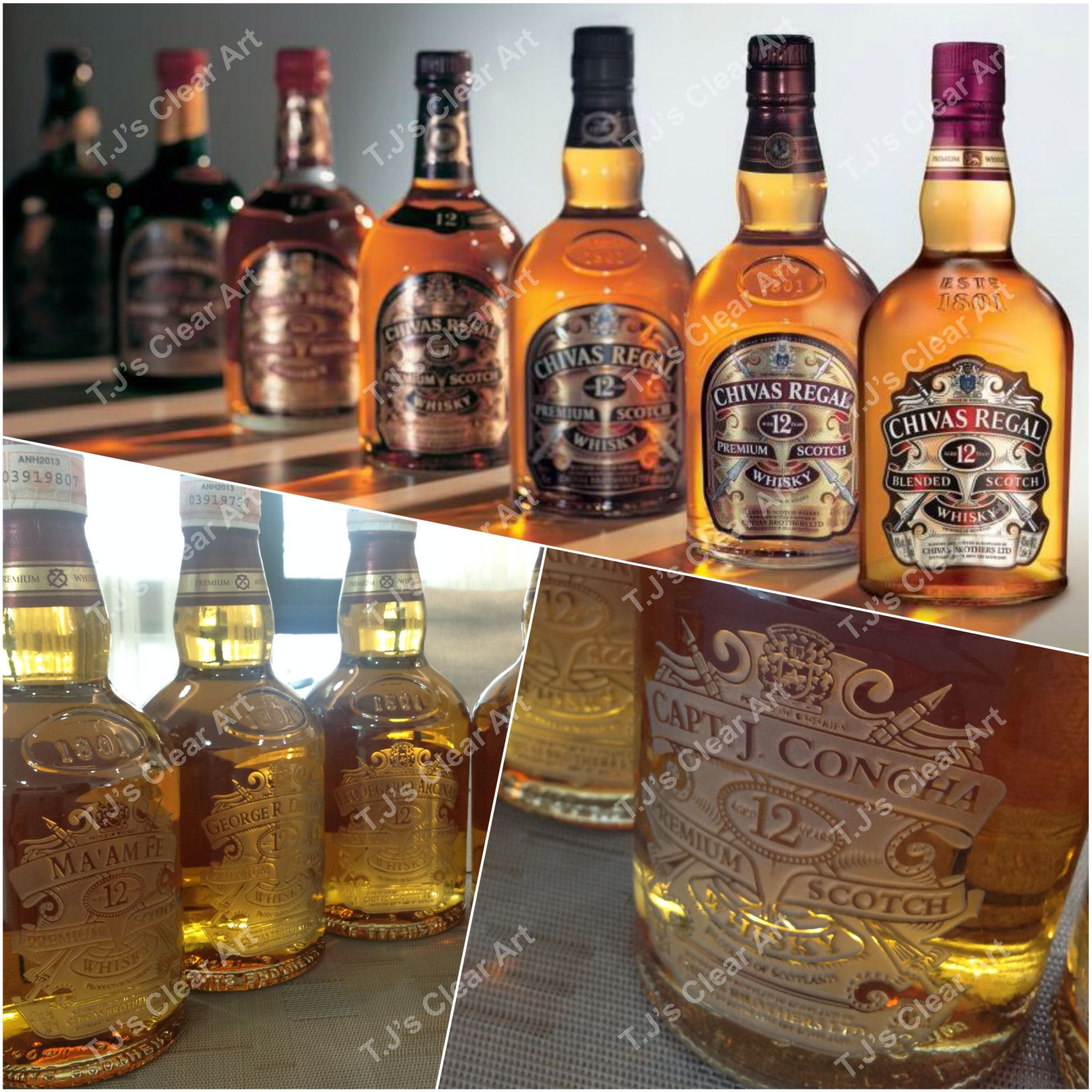 Customized Liquor Bottles