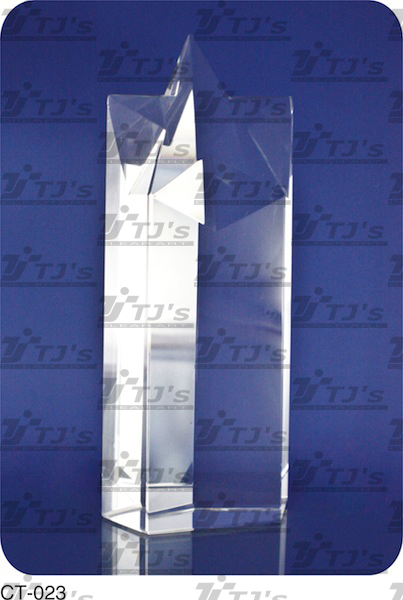 Star Crystal Trophy/Plaque