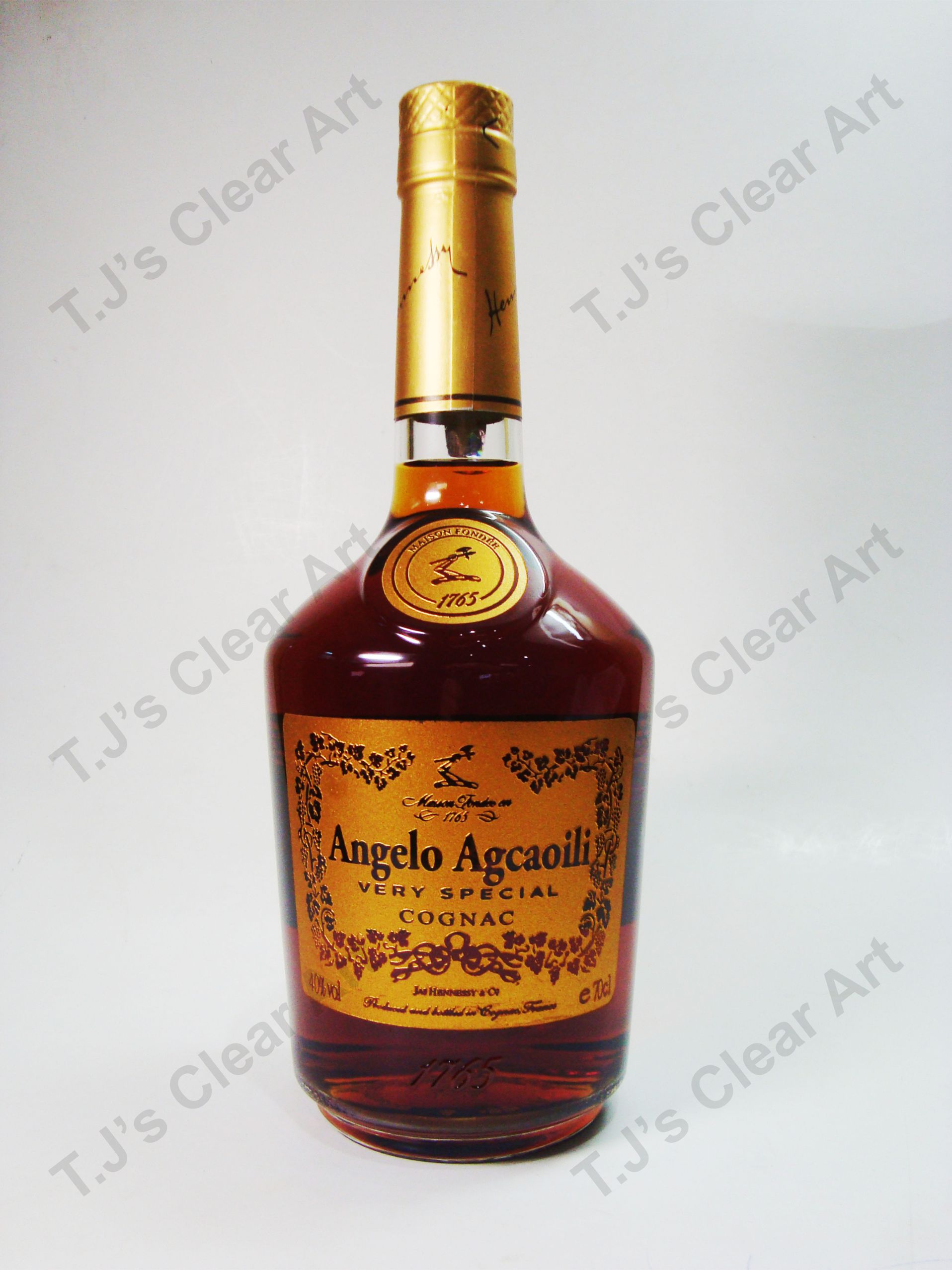 Customized Liquor Bottle