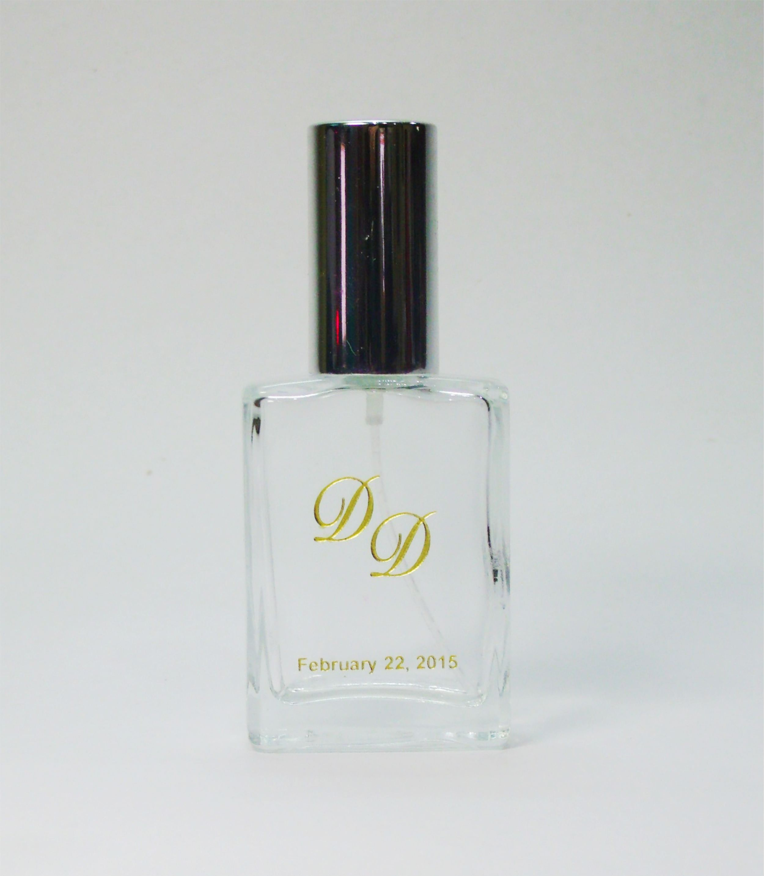 Personalized Etched Perfume Bottle