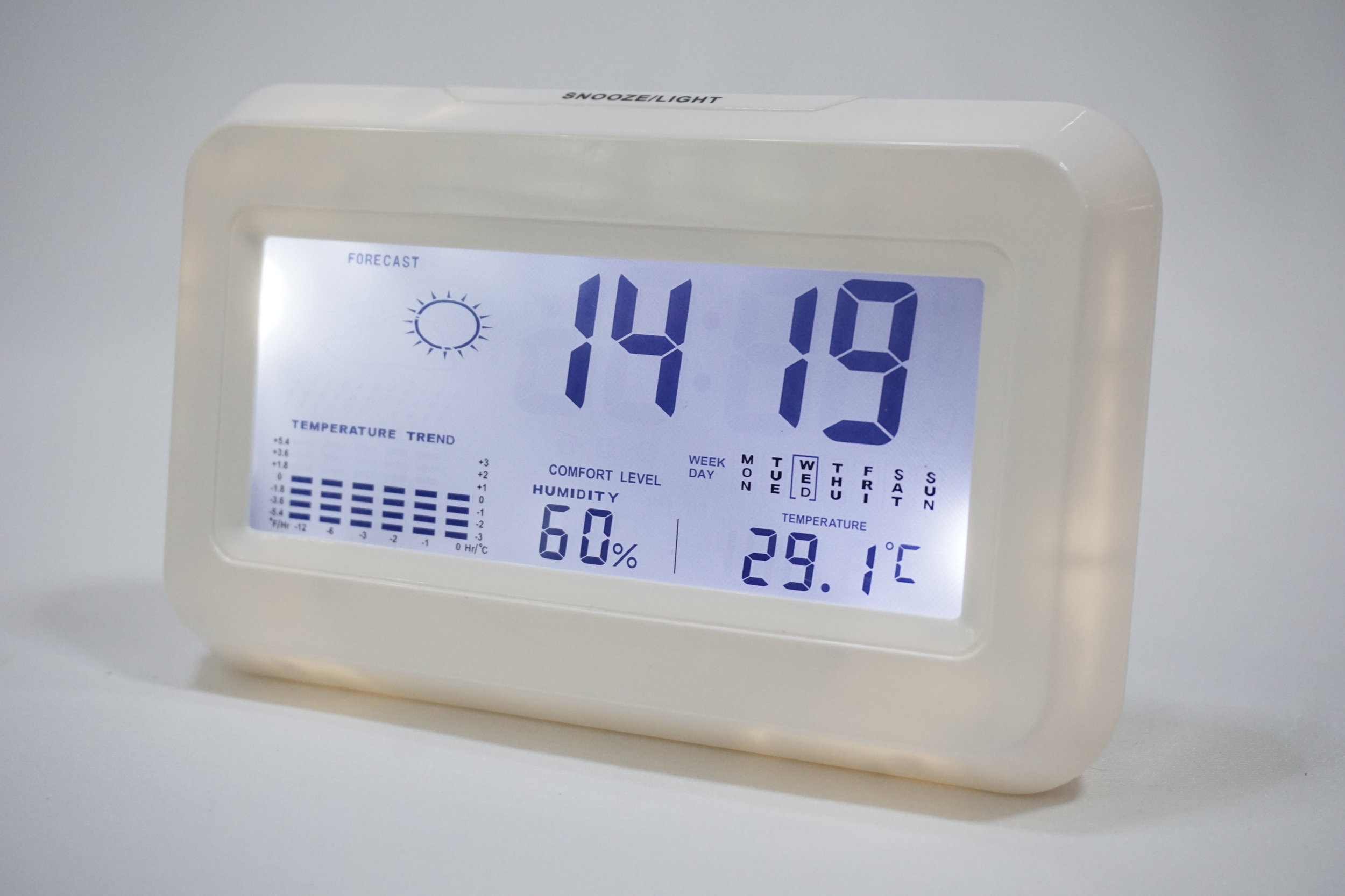 Customized Digital Desk Clock