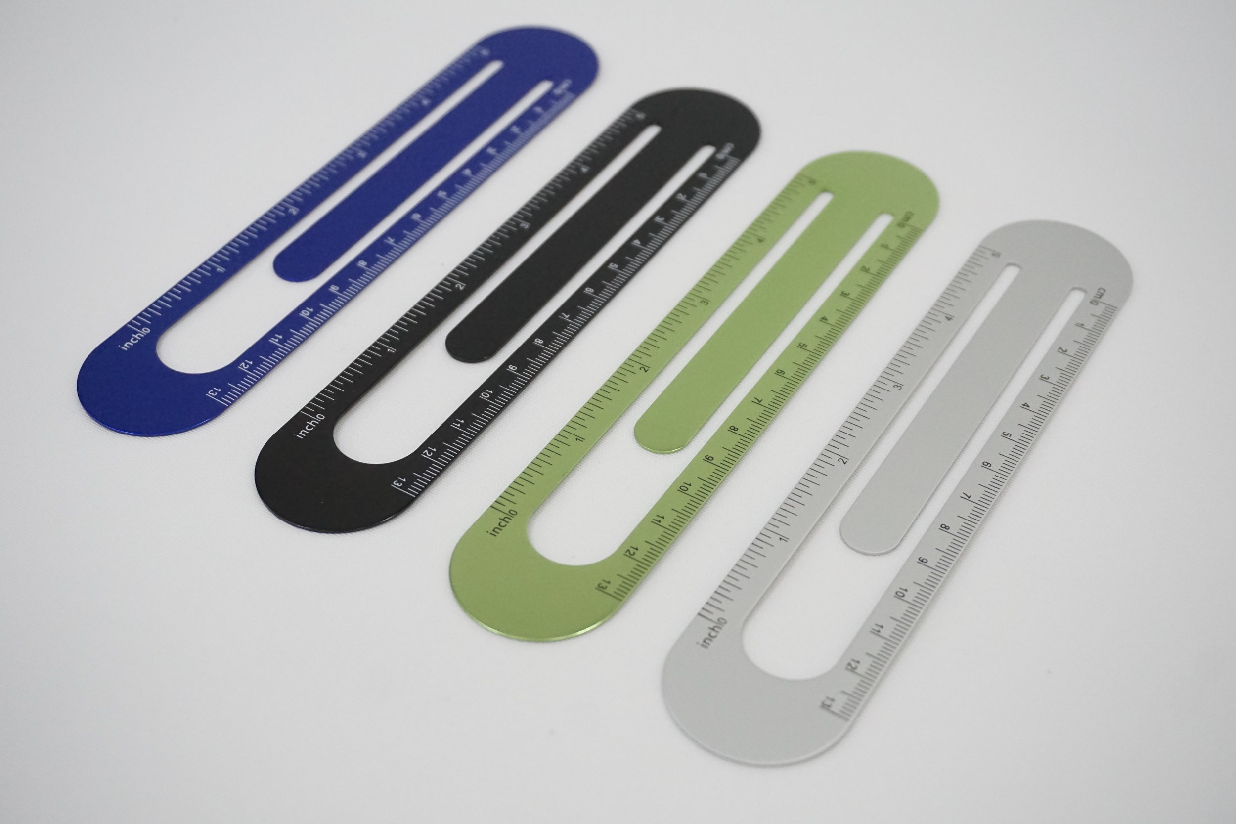 Aluminum Bookmark Ruler