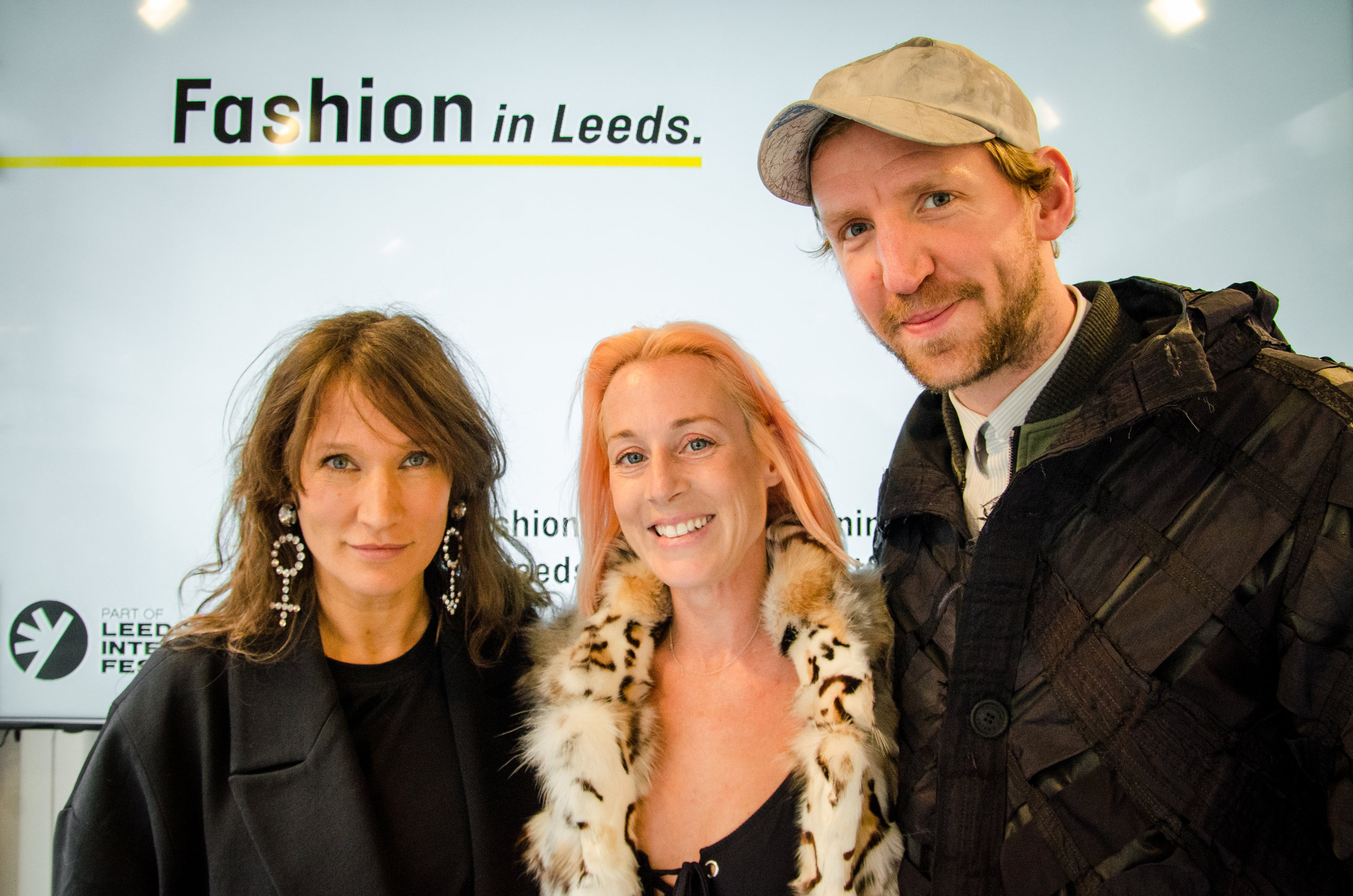 Lulu Kennedy, Katie Eary, Christopher Raeburn, Fashion in Leeds 2017.