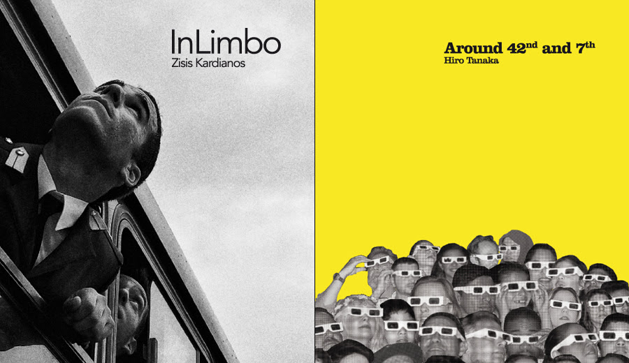 The winning books of Trieste Photo Days Book Award 2018 for best submitted book dummies.