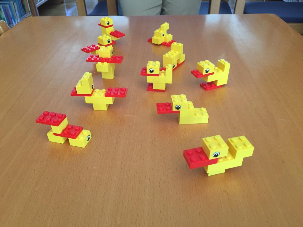 o desafio do pato permite uma infinidade de respostas certas possíveis