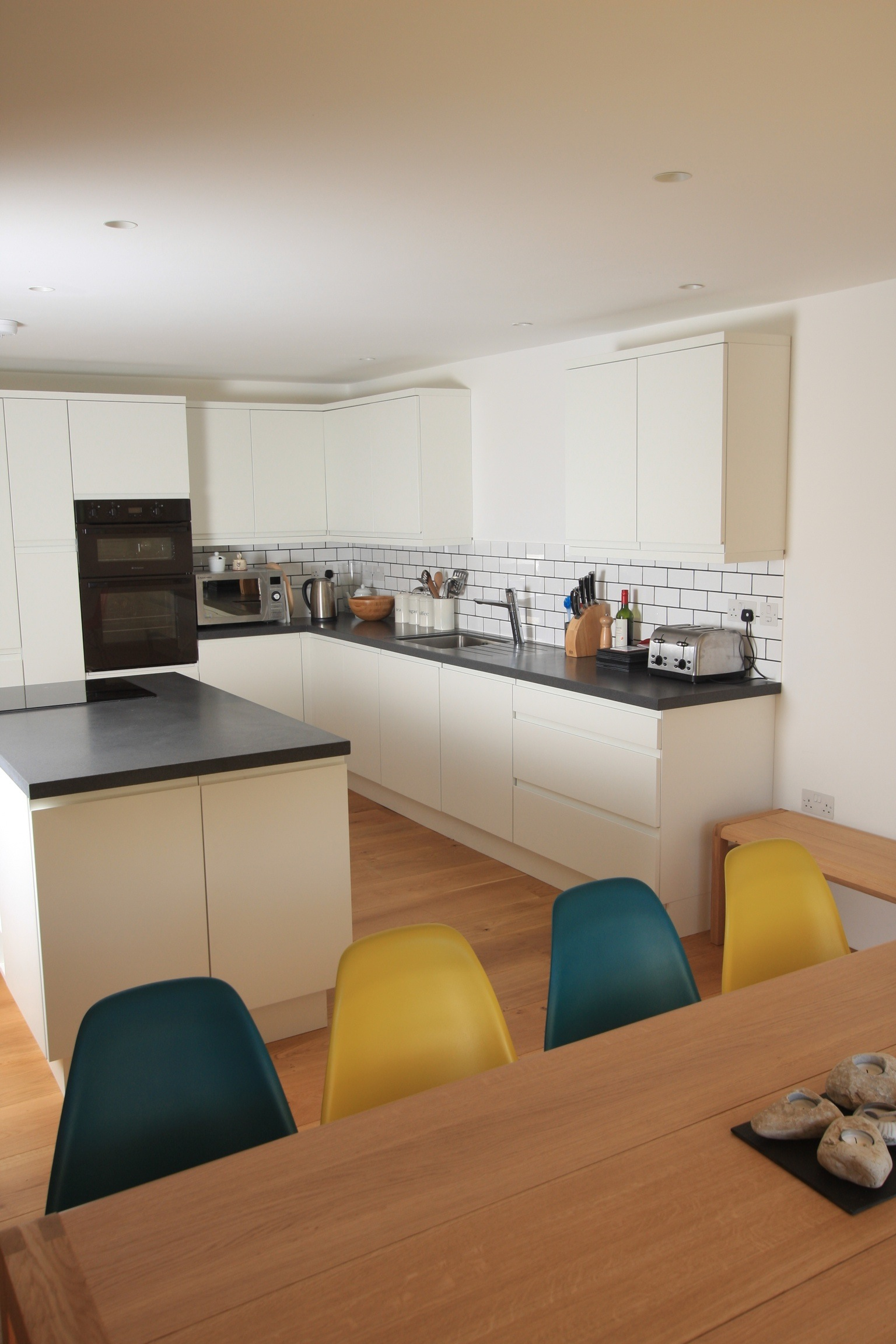 Kitchen & eating area at Godolphin Cottage