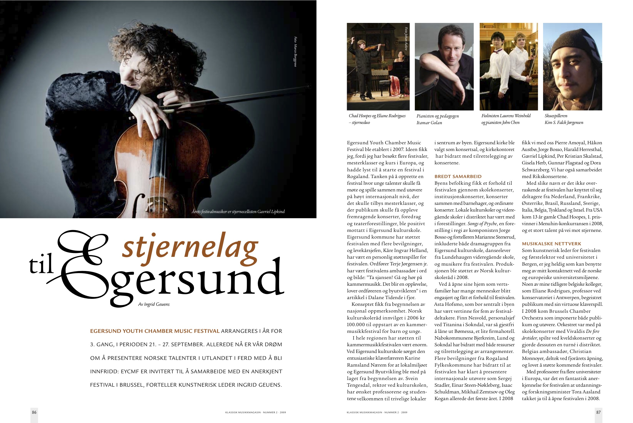 Klassik Musikkmagasin nummer 2 2009