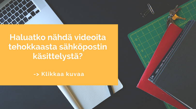Sähköpostini hallinta - Minna Koivisto