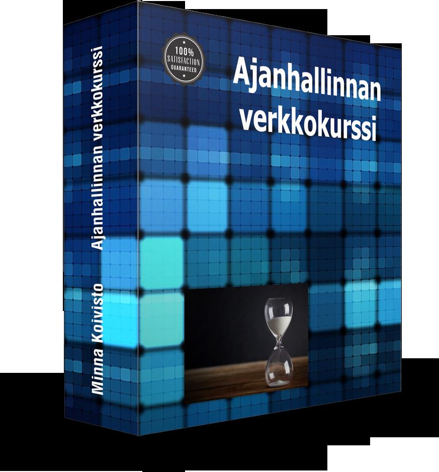 Ajanhallinnan verkkokurssi - Minna Koivisto
