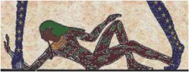 Figure 1C. Image of the neter Geb.