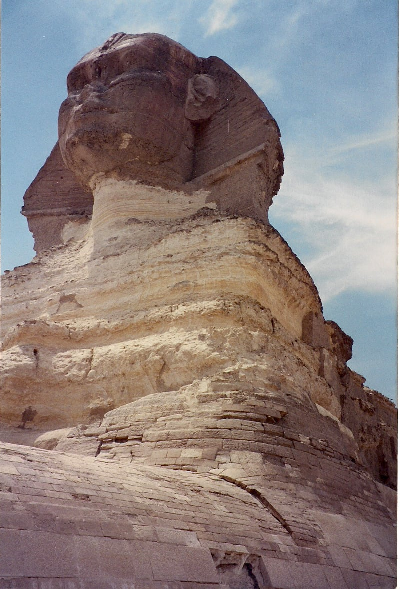 Figure 1. The Great Sphinx of Giza created with human and lion characteristics.