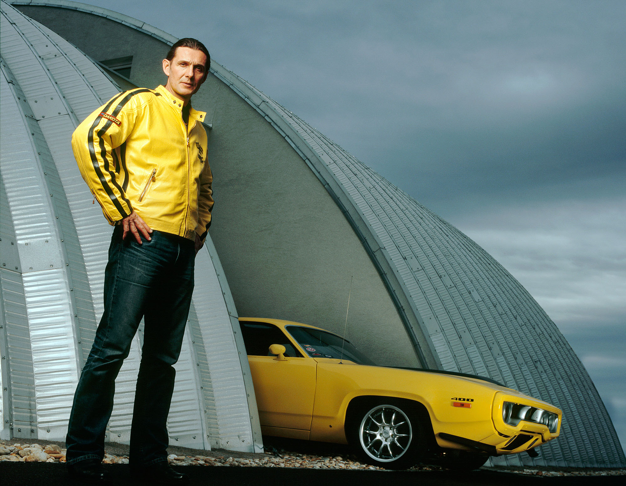 Knud Tiroch, Artist and Car Collector