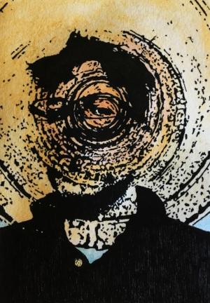 Disintegration (self-portrait), 2016