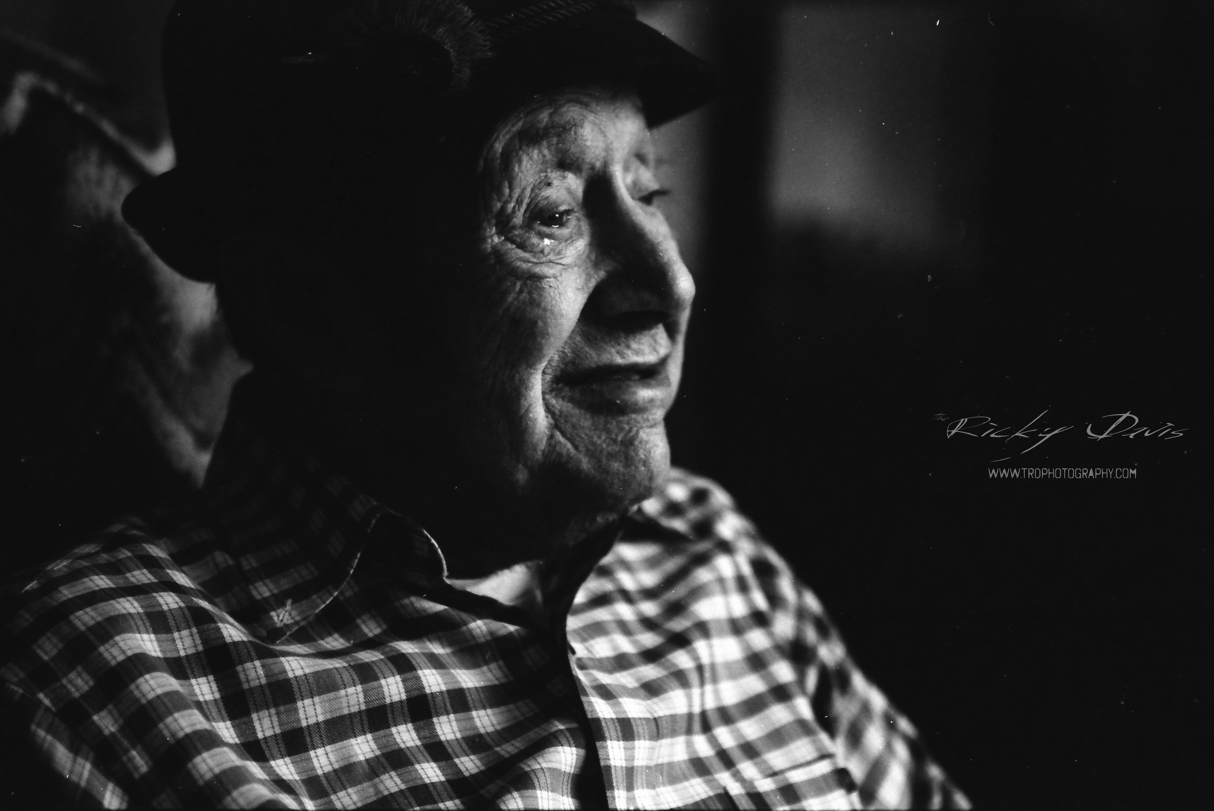 WWII Artilleryman - Pvt Ralph Davis - Photographer Ricky Davis of TRD Photography - Expired Kodak T-Max100 Film -