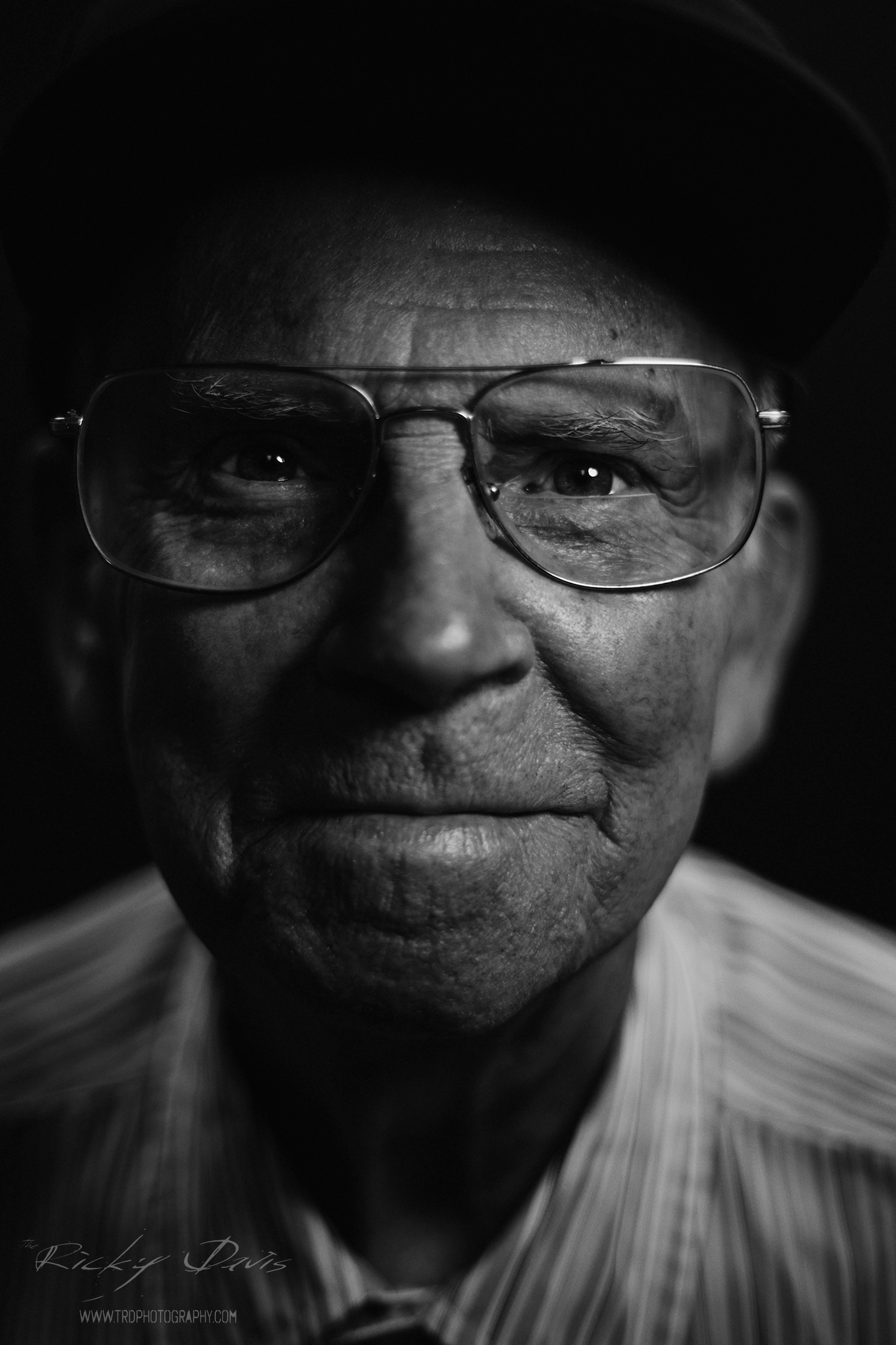 WWII & Vietnam Veteran - Master Sgt Cletis Bailey - Air Force - Photo by Ricky Davis of TRD Photography - Canon 6D.