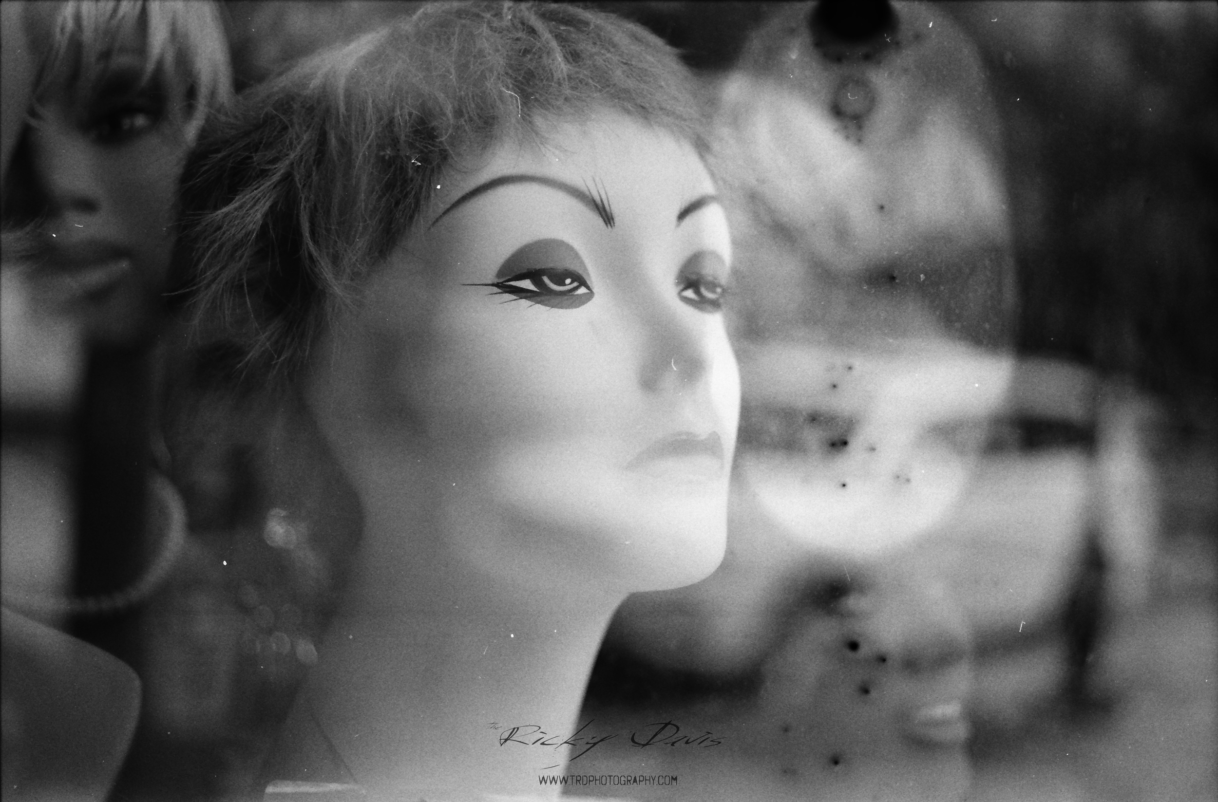 Store Window - Chattanooga, TN - Film - Expired Neopan SS - Camera - Minolta XG 1 - Photographer Ricky Davis