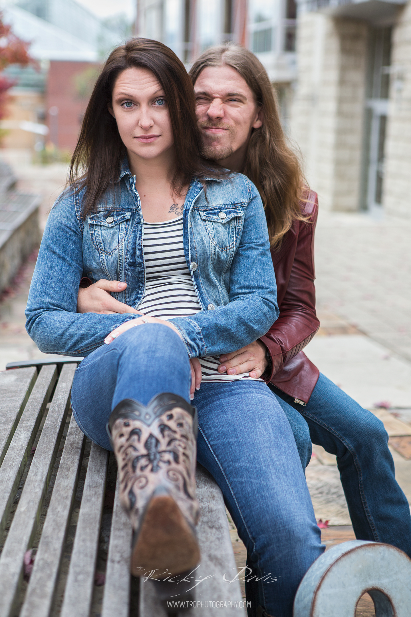 Chattanooga - Coolidge Park - Engagement Session - Mandy & Justin - TRD Photography