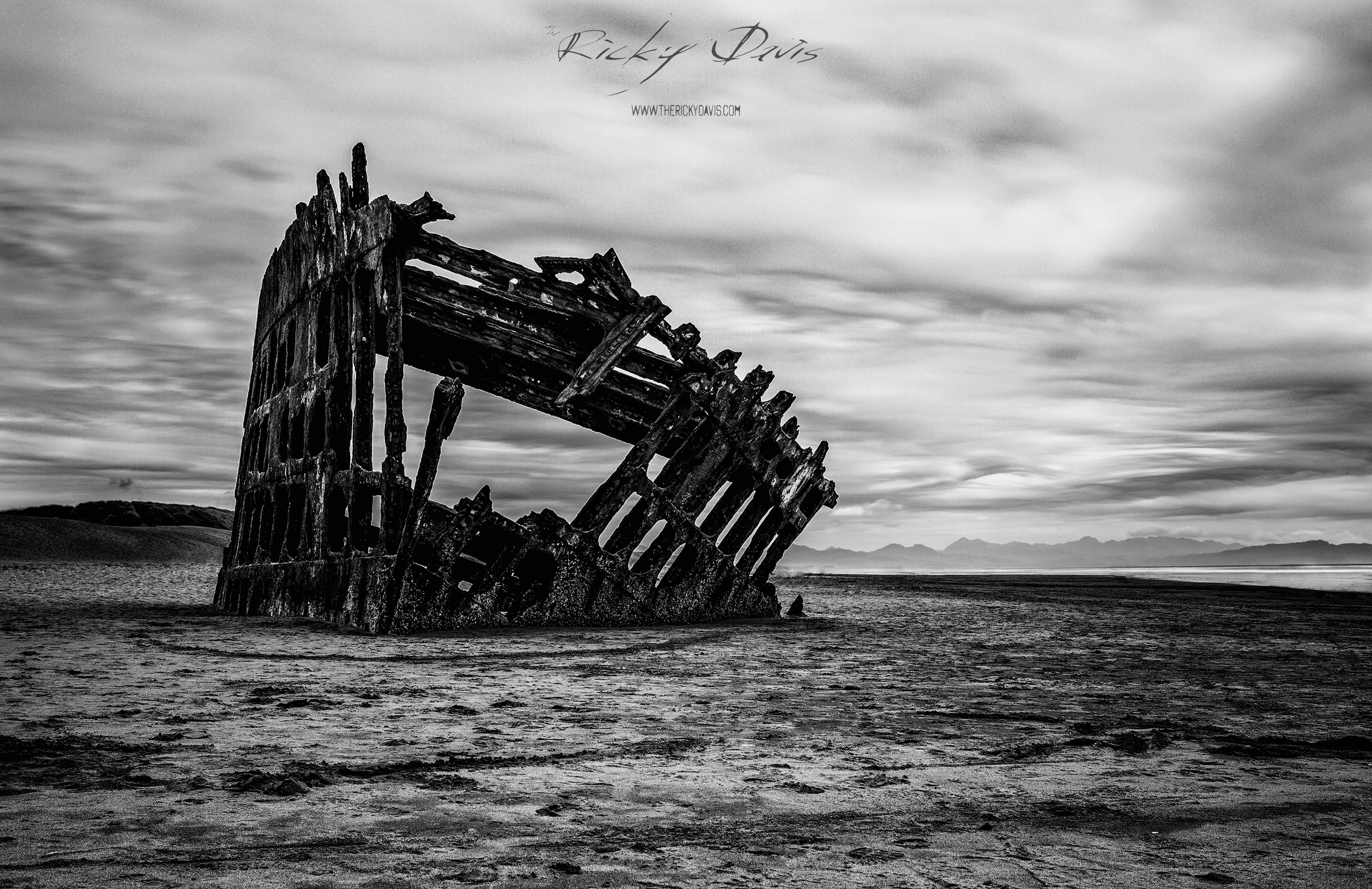 Wreck of the Peter Iredale - Astoria, OR - 2015 - TRD Photography -